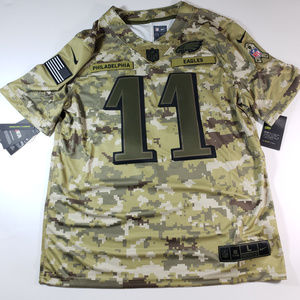 the best attitude d6895 782bd Nike Salute to Service Carson Wentz Eagles Jersey NWT